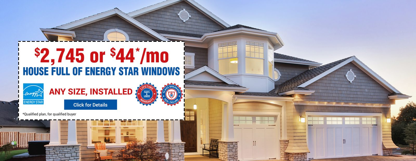House Full Energy Star Windows