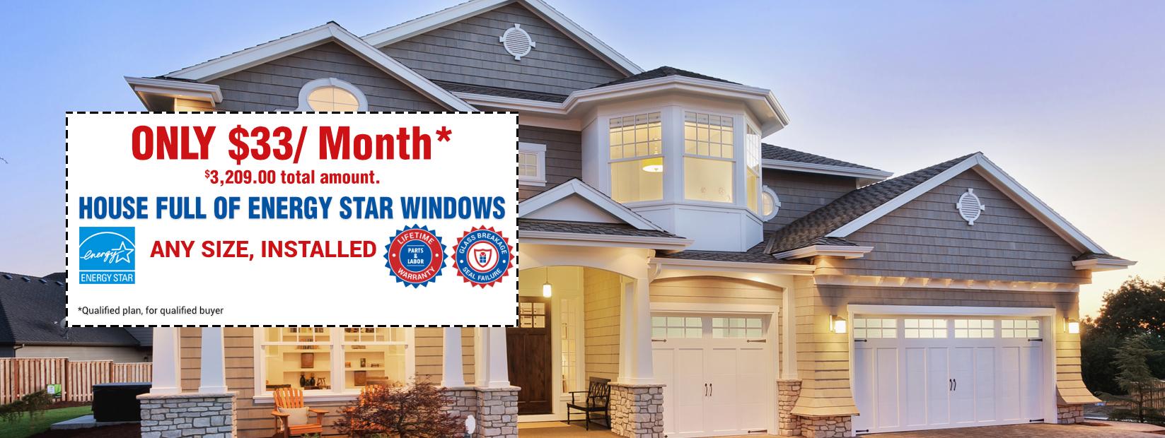 House Full Of Energy Star Windows